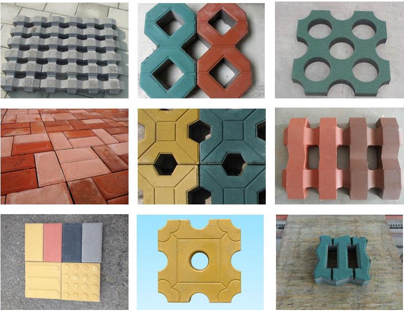 paving brick sample