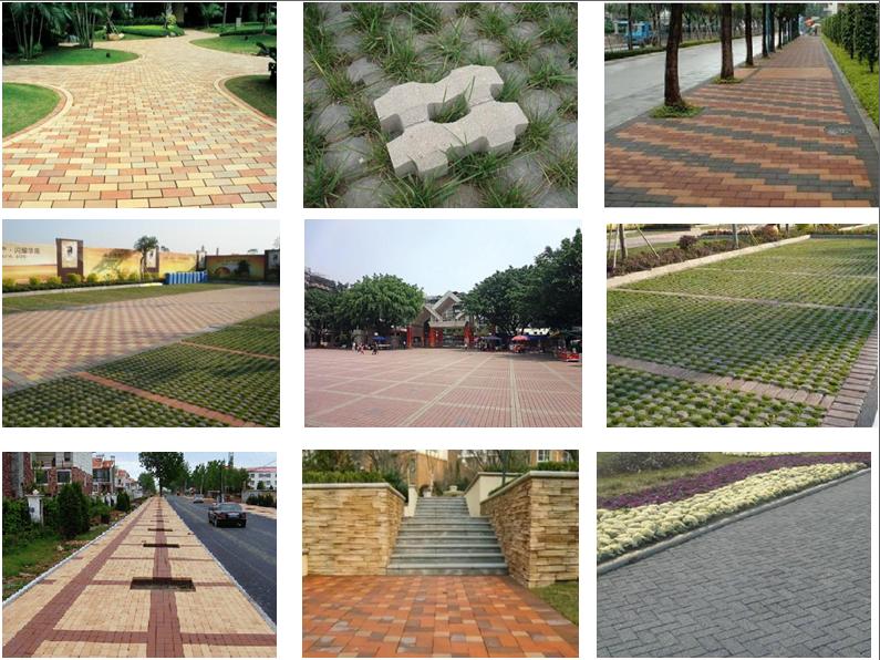 paving brick application