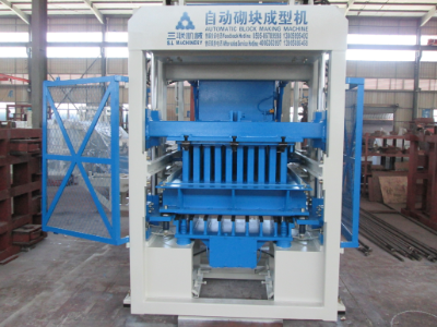 Small Concrete Block Machine