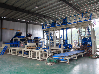 NM15 Full Automatic Brick Production Line