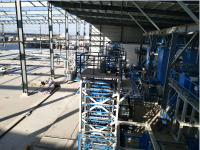 Insulation Block Production Line in Shandong