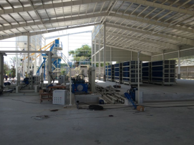 Vertical Wall Panel Machine in Philippines