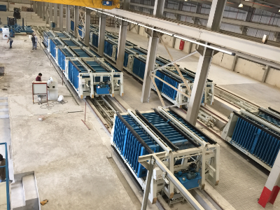 Wall Panel Production Line in Egypt