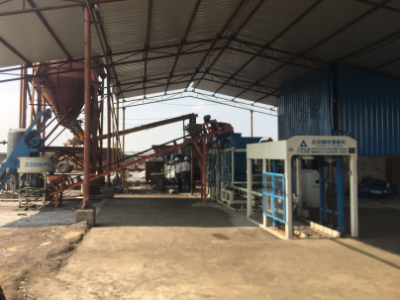 QFT4-15 Block Machine in India