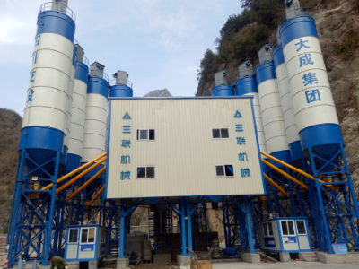 2HZS90 Concrete Batching Plant in Sichuan