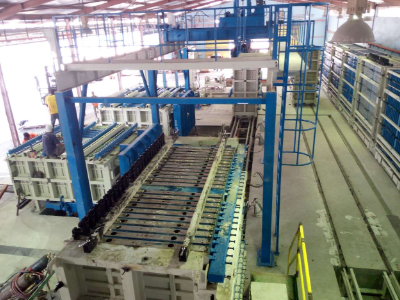 Vertical Wall Panel Machine in Malaysia